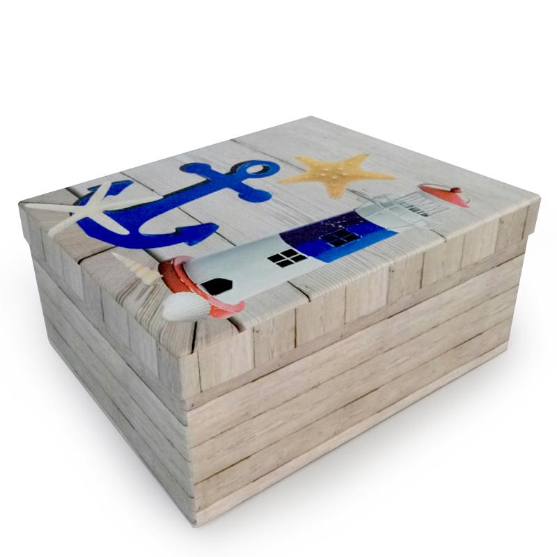 Набор коробок 10 в 1, Морской, 37*30*17см