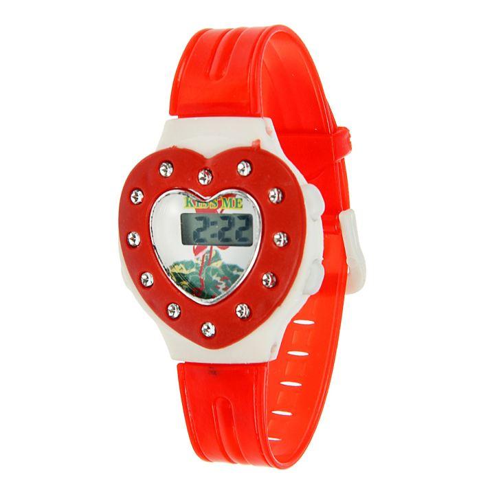 Часы наручные детские электронные на силиконовом ремешке