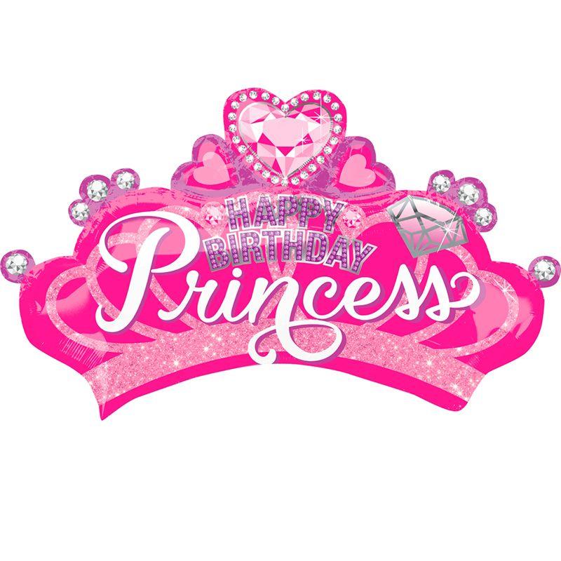 Корона принцессы с бриллиантами / Princess crown & gem,  81*48 см