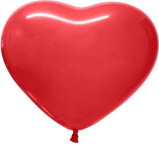 Геливые сердца 30 см