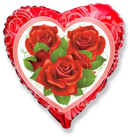 Сердце Розы, 45см