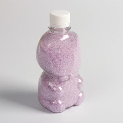 Песок цветной в бутылках