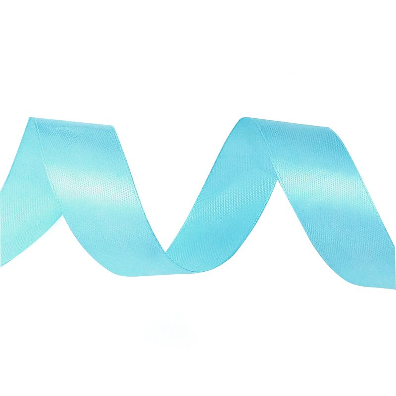 Лента Атлас Небесно-голубой