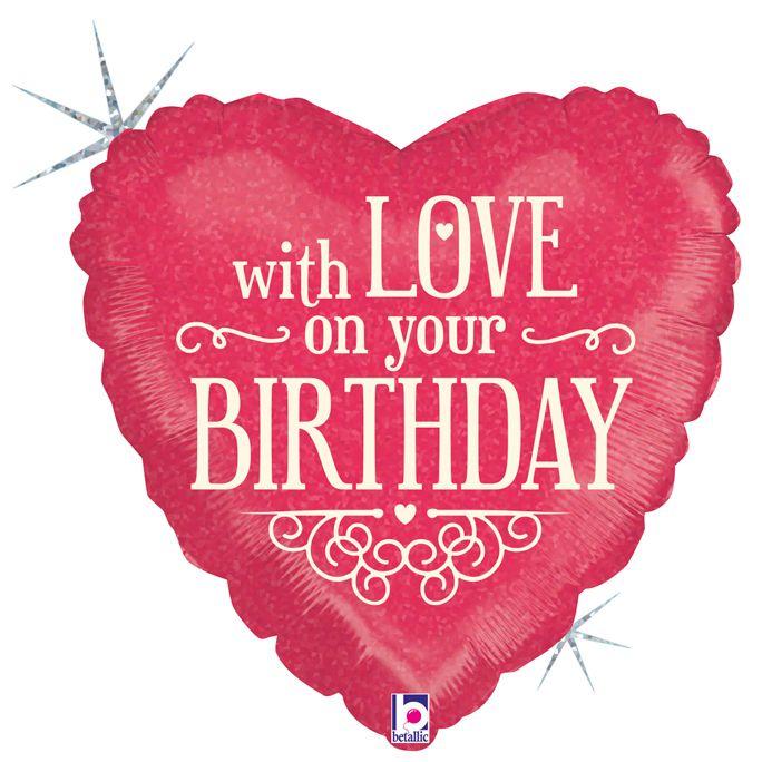 Сердце С любовью в твой День Рождения / With love on your Birthday, 18