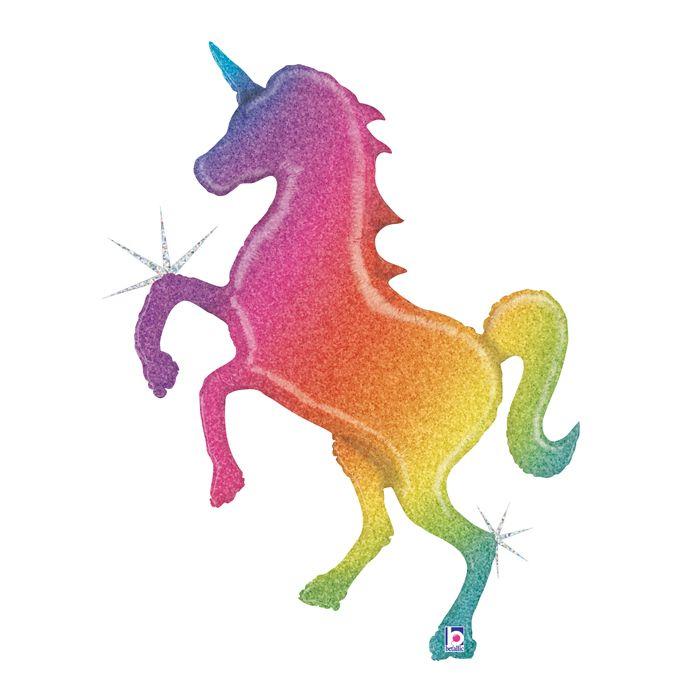 Единорог радужный Голография / Glitter Rainbow Unicorn, 54