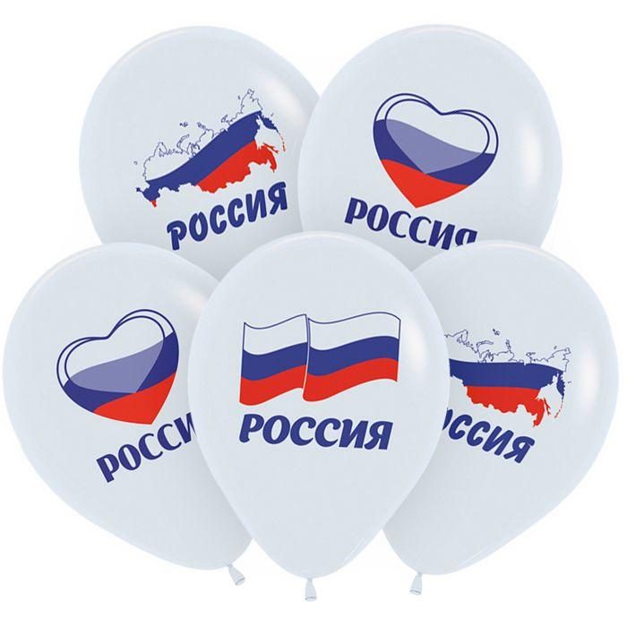 Россия Триколор, Белый Пастель, 2 ст. 30 см