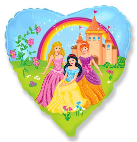 Сердце Замок принцессы, 45см
