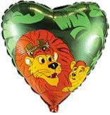Сердце Король лев, 45см