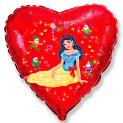 Сердце Леди бантик, 45см