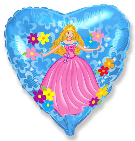 Сердце Принцесса, 45см