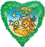 Сердце Сумасшедший лев, 45см