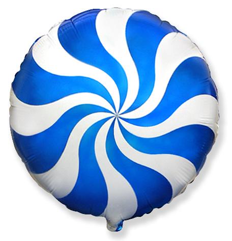 Круг Карамель (голубой), 45см