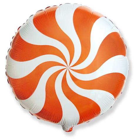 Круг Карамель (оранжевый), 45см