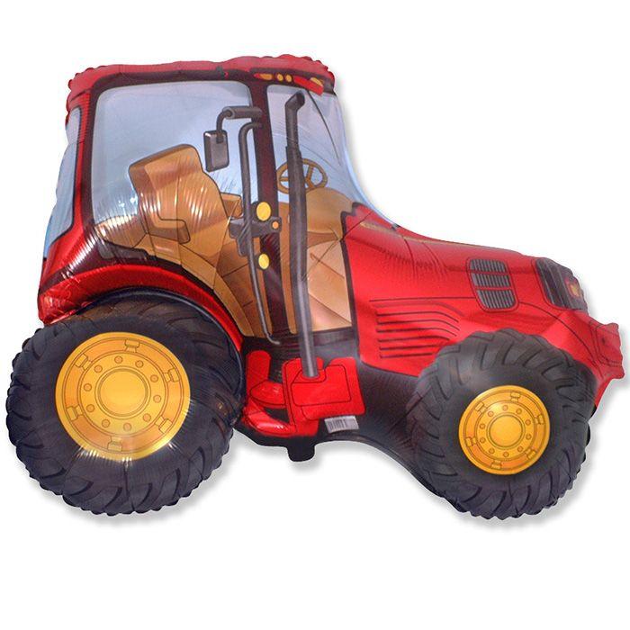 Трактор (красный) / Tractor, 37