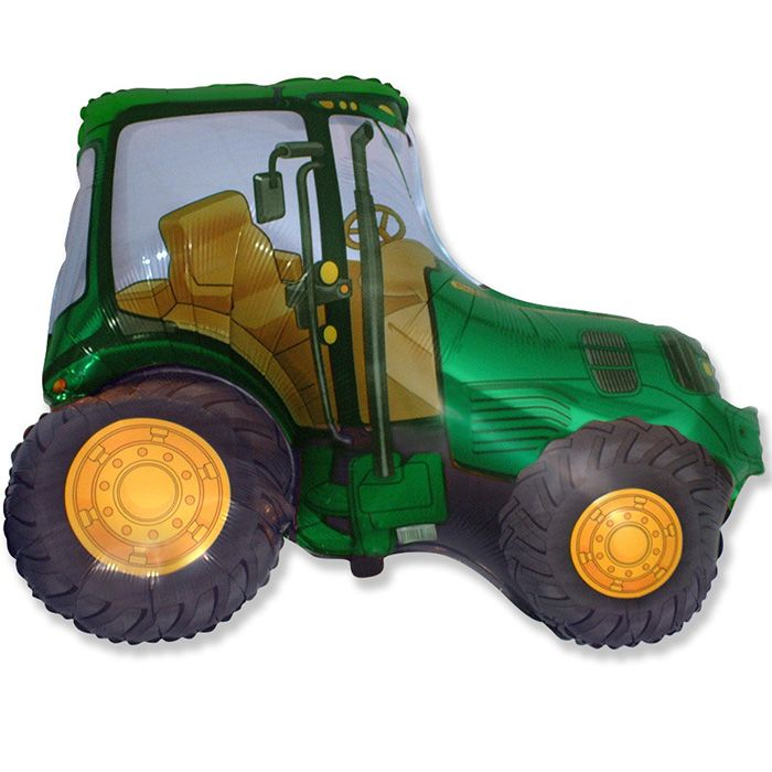 Трактор (зеленый) / Tractor,37