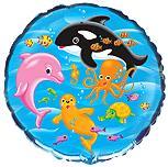 Круг Подводный мир, 45см