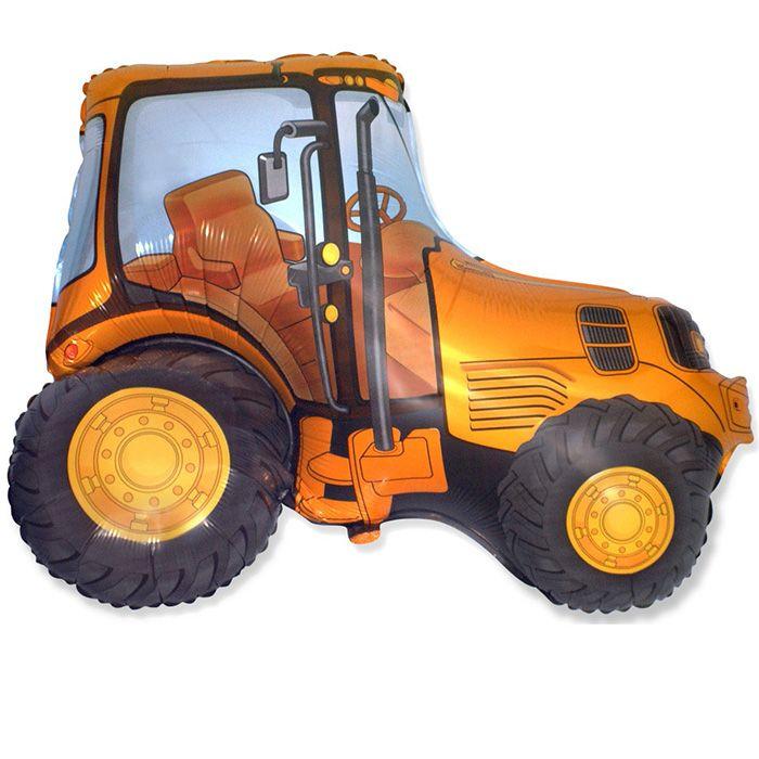 Трактор (оранжевый) / Tractor, 37