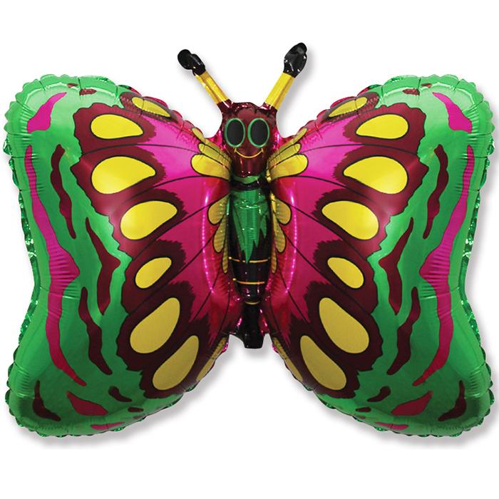 Фигура Бабочка (зелёная), 58*89 см