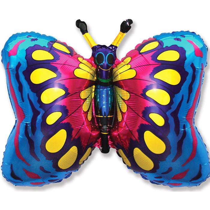 Фигура Бабочка (синяя), 58*89 см