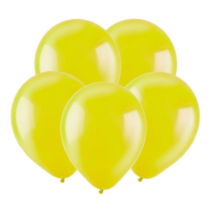 Желтый, Кристал / Yellow, 30 см, 100 шт