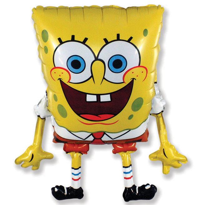 Губка БобКвадратные штаны / Sponge Bob / 1 шт / (Испания, 79*54 см