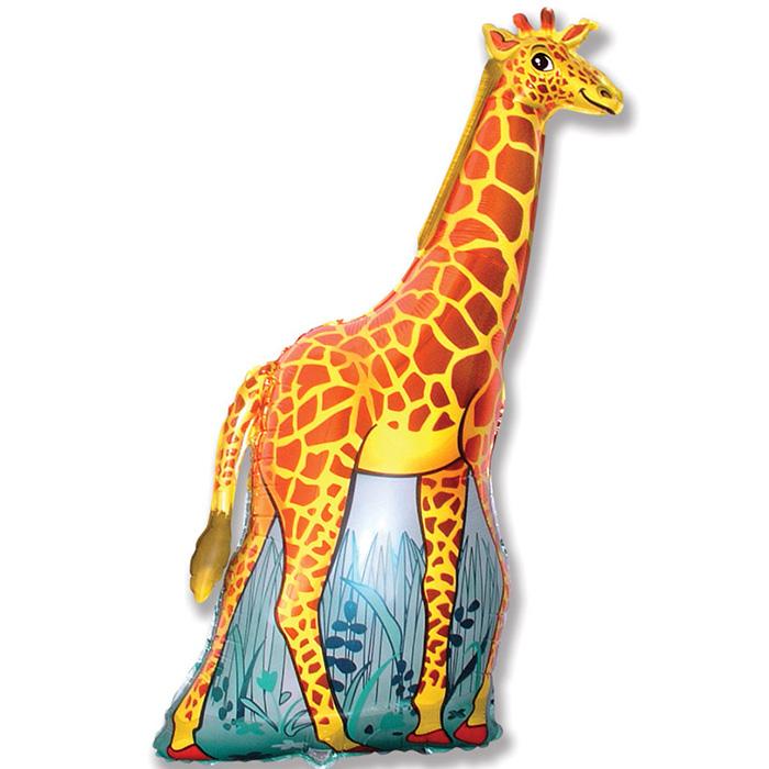 Жираф (оранжевый), 119*66 см