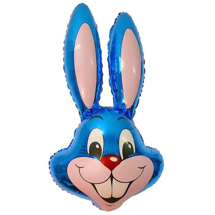 Заяц (синий), 89*58 см