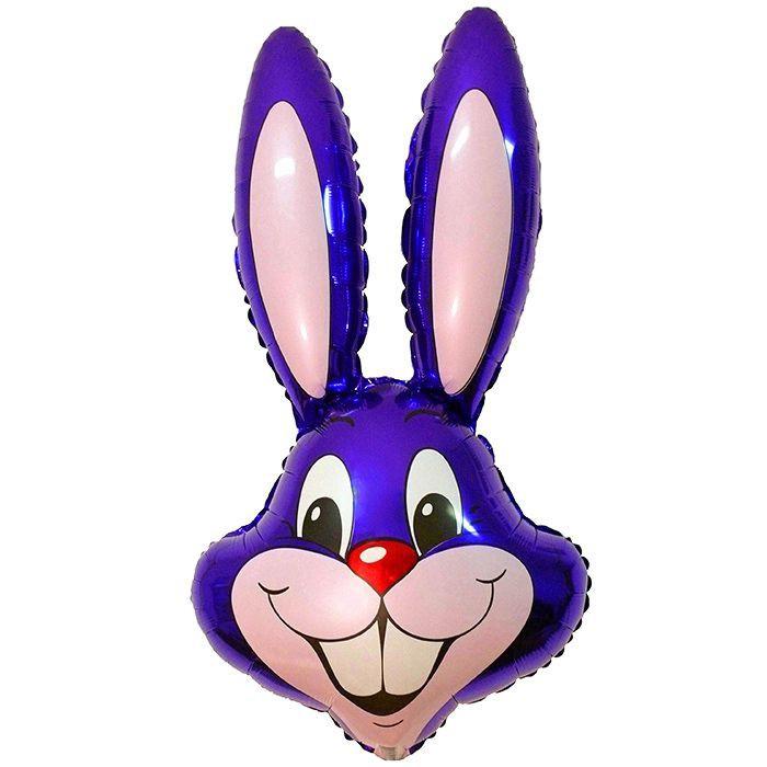 Заяц (фиолетовый), 89*58 см
