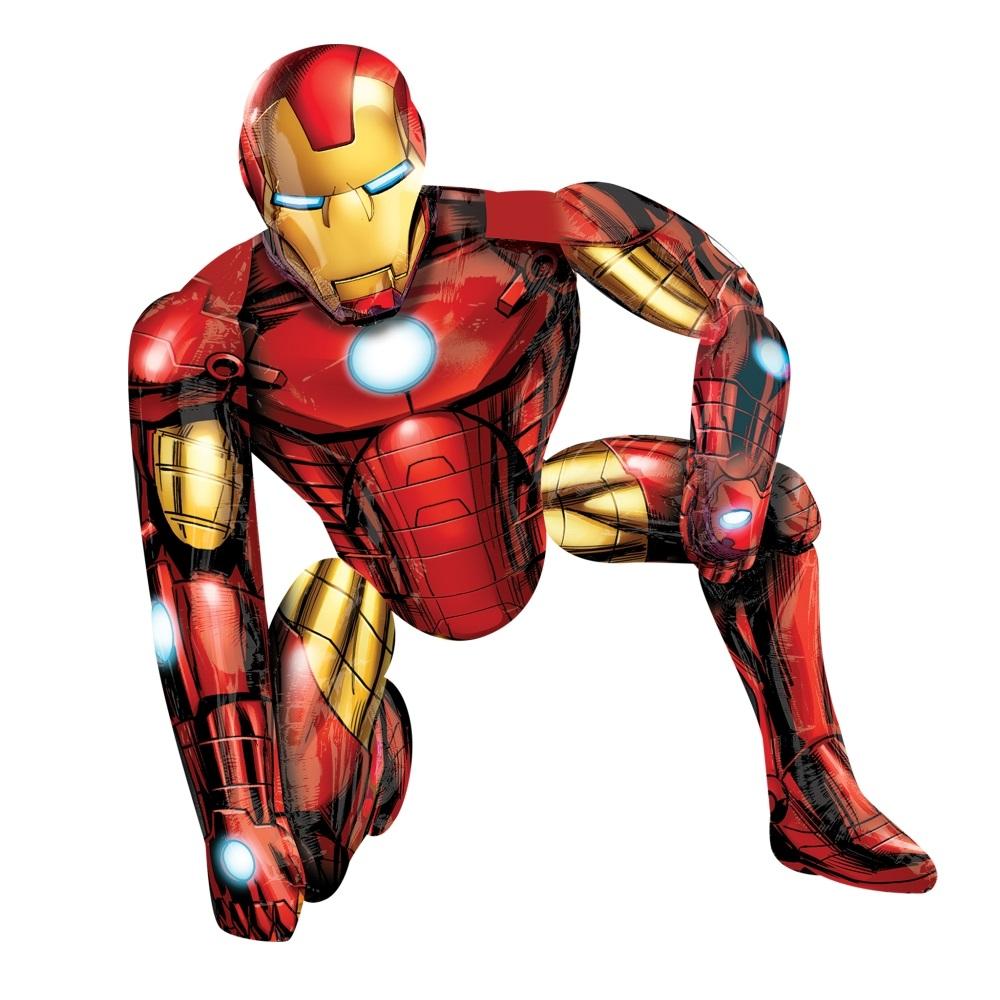 Ходячая фигура Железный человек в упаковке / Iron Man