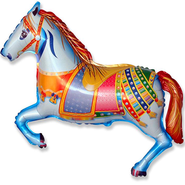 Лошадь кружева, 74*107 см