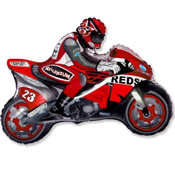 Мотоцикл (красный), 69*79 см