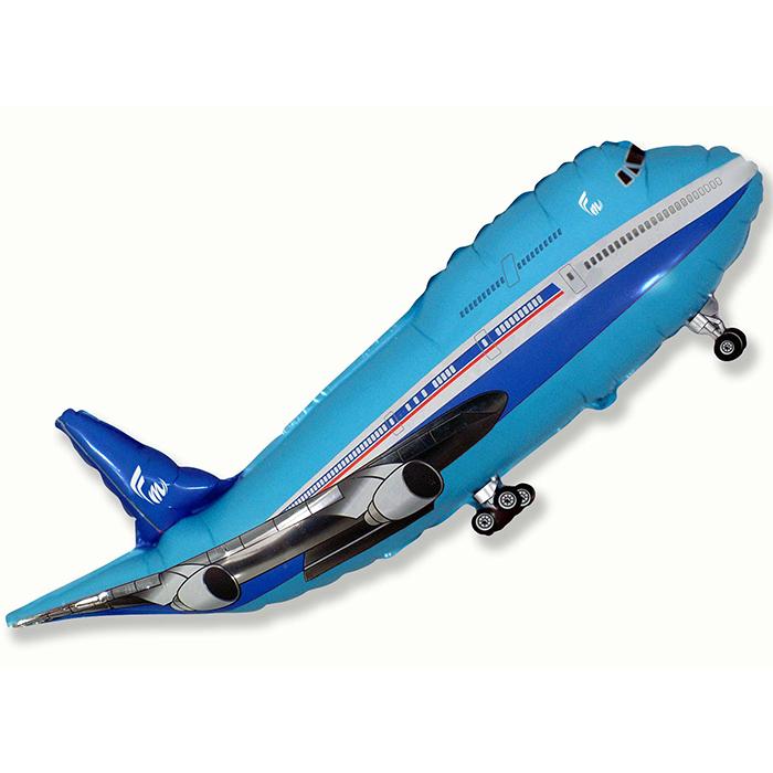 Самолёт (синий), 51*99 см