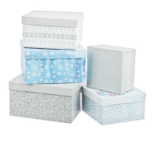 Набор подарочных коробок 5 в 1 «Волшебство», 19,5 × 20 × 11 см