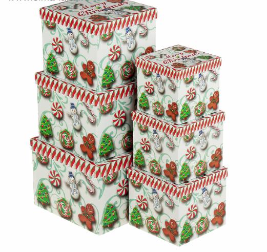 Подарочная коробка из набора 6в1