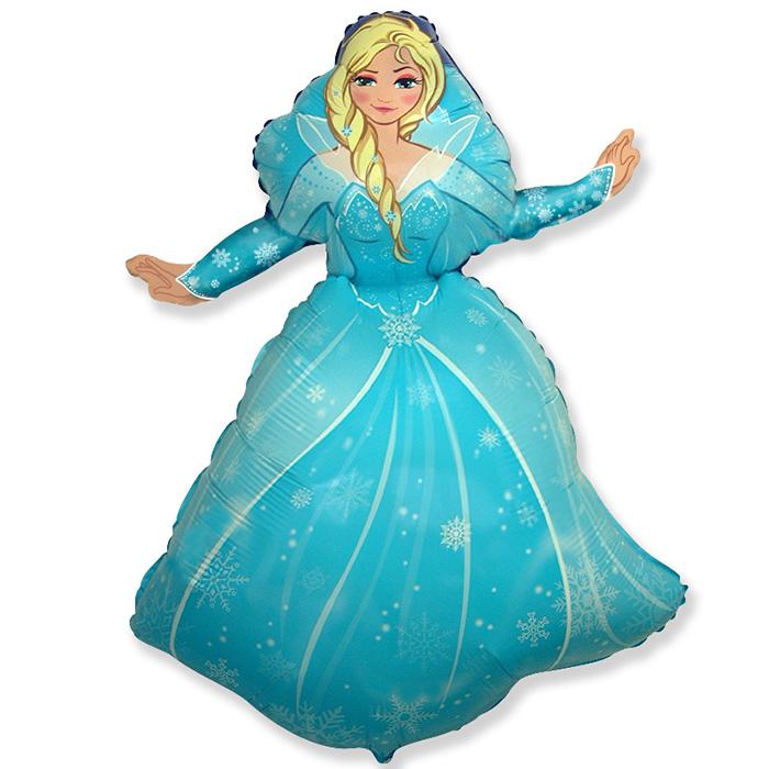 Фигура Снежная королева 96*62 см