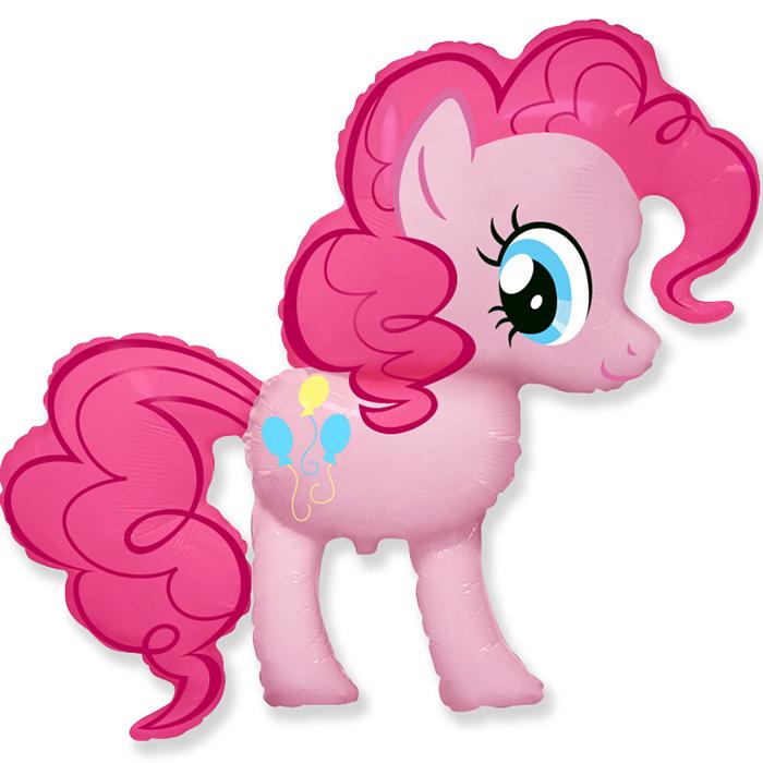 Пони Розовая, 94*102 см