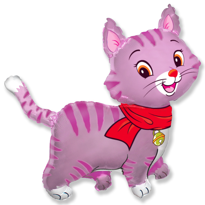 Мой милый котенок (розовый), 91*94 см