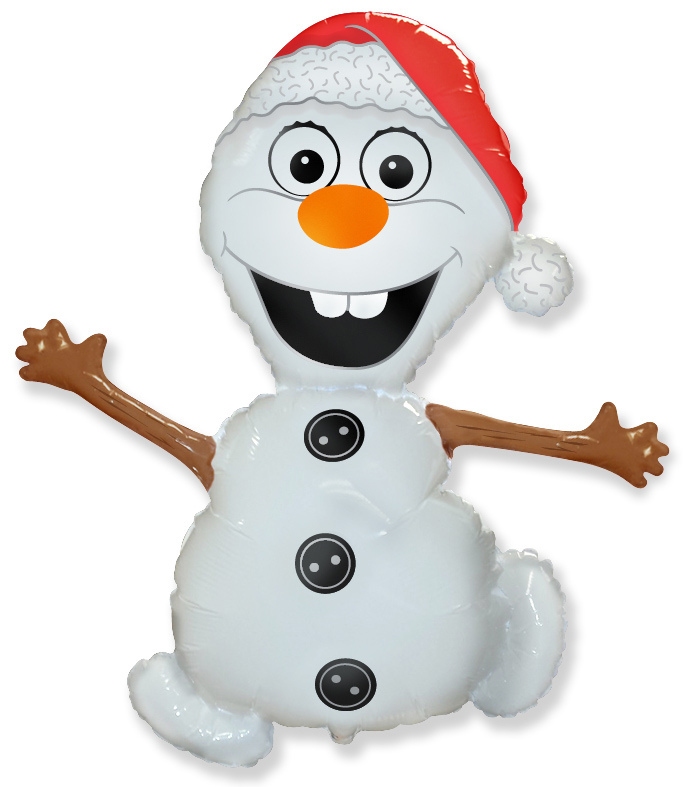 Снеговик в шапочке, /99*61 см