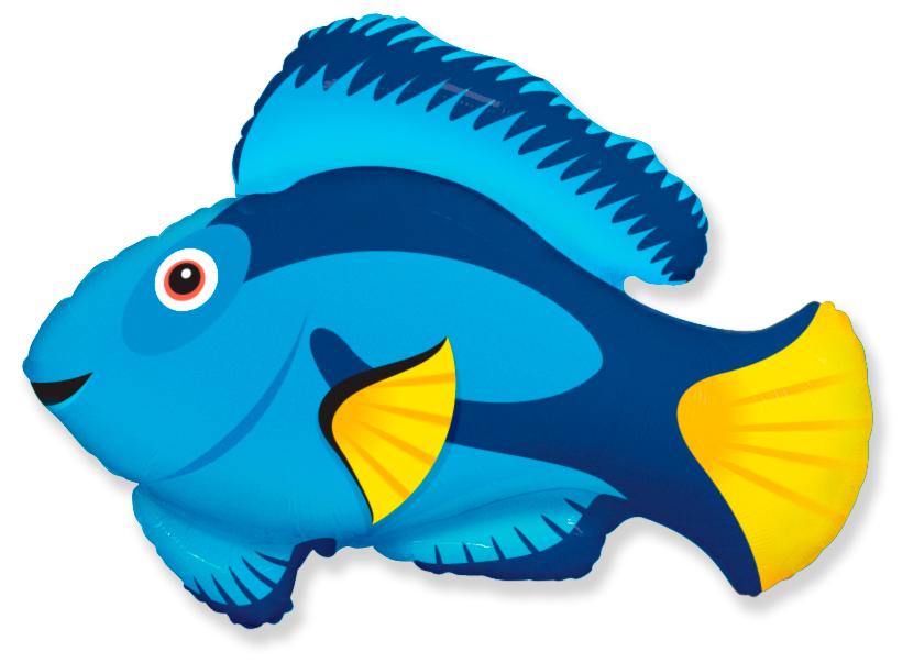 Голубая рыбка, 77*86 см