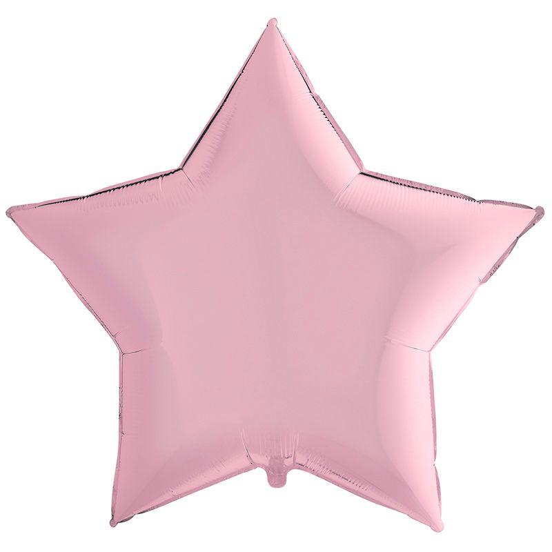 Звезда Пастель Розовый, 90 см