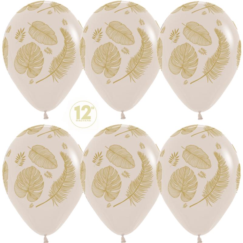 Золотые листья, Белый песок (071), пастель, 5 ст,