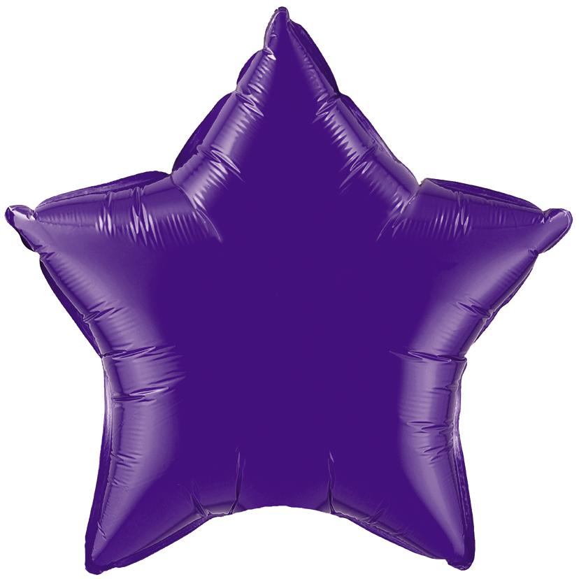 Звезда Фиолетовый, 45см