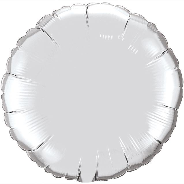 Круг Серебро, 45см