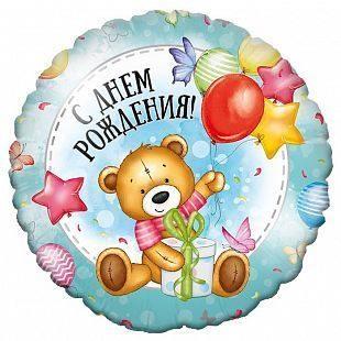И 18 Круг Милый Мишка / Rnd Sweet Bear BD / 1 шт /