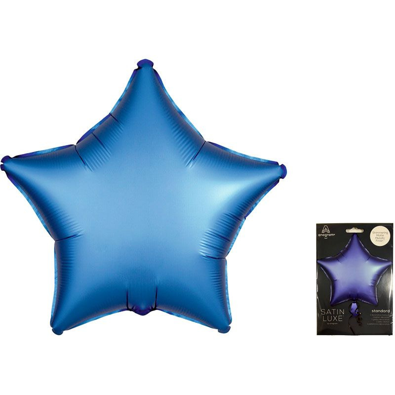 А 18 Звезда Голубой Сатин Люкс в упаковке / Satin Luxe Azure Star S15 /