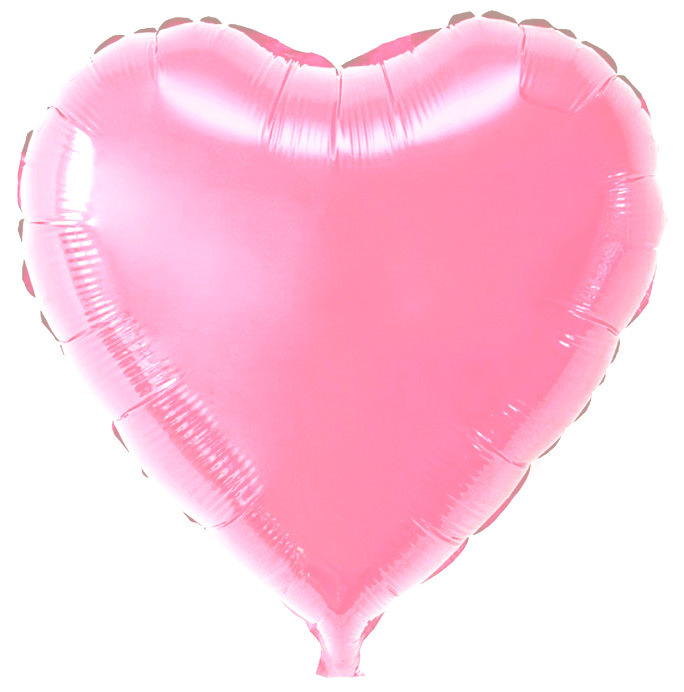 А 18 Сердце Розовый / Rose Decorator Heart S15