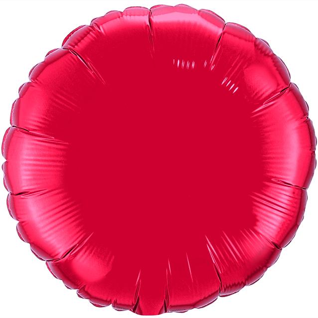 Круг Красный, 80 см
