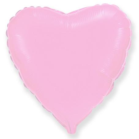 Сердце Розовый, 80 см