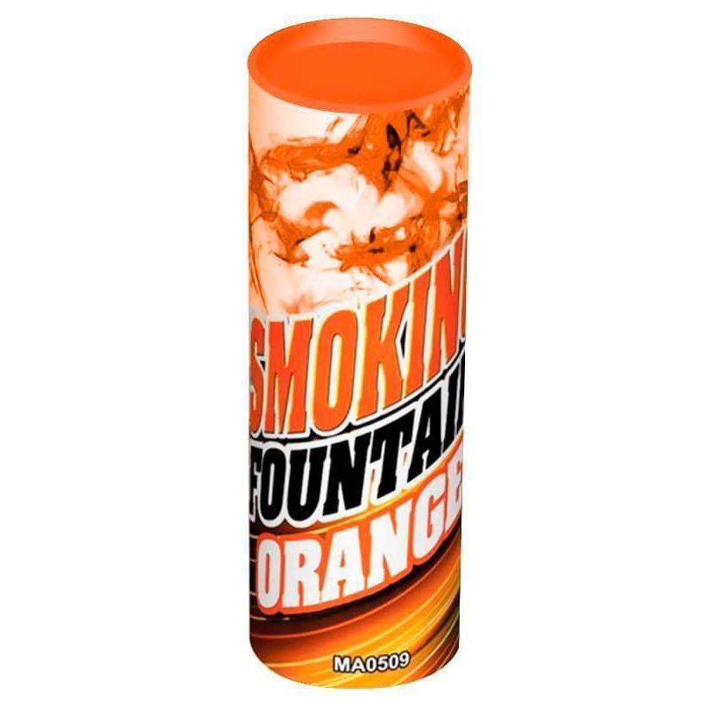 Цветной дым Оранжевый 30 сек.