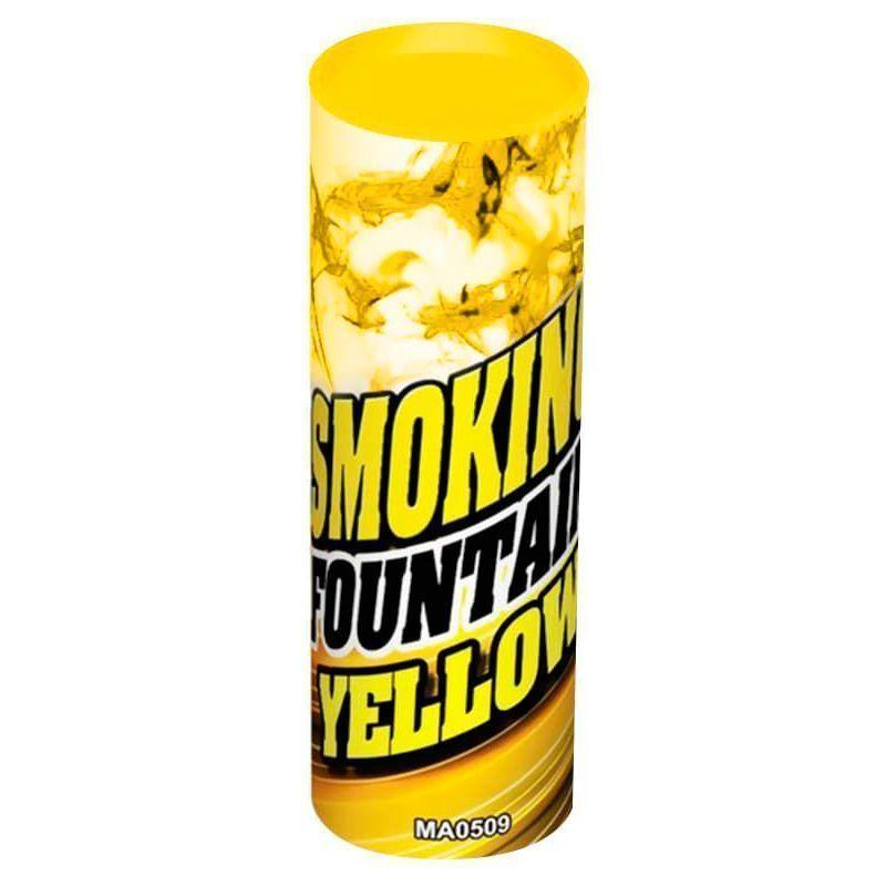Цветной дым Желтый 30 сек.
